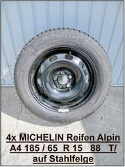 4 x Michelin Alpin A4