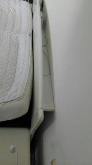 Hülsta weißes Holzbett, gebraucht, Wasserbett gebraucht kaufen  Rückholz