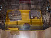 Goldhamster Käfig Hamsterkäfig mit Laufrad