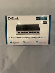 D-Link 8-Port Switch DGS-1100-08