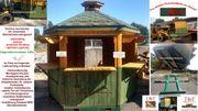 Verkaufshütte Verkaufspavillon Markthütte