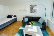 Voll möbliertes helles Apartment Neuperlach