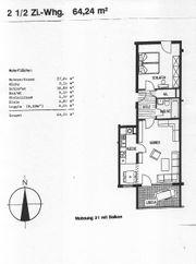 2 5 Zimmer-Wohnung 64 24