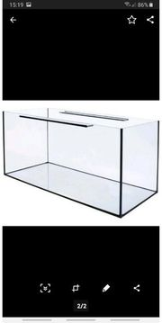 Aquarium Glasbecken 120x40x50