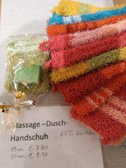 dusch und masage handschuh