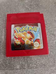 Gameboy Pokemon Rot Deutsch