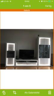 LED wohnwand
