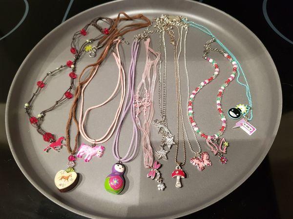 Halsketten Mädchen