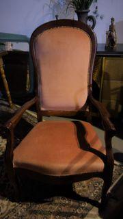 hoher Sessel