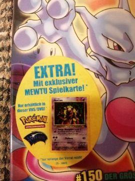 Sonstige Sammlungen - Pokemon der Film Nr 1