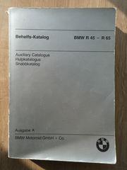 Befehlskatalog Ersatzteilkatalog BMW R45 - R65