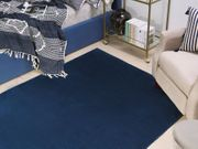 Teppich marineblau 160 x 230