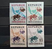 Republik Indonesia 1949 Map UPU