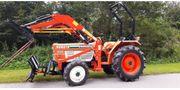 Traktor Kubota 24 kw Frontlader