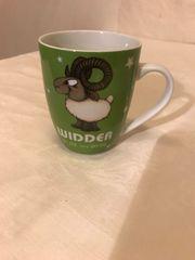 Tasse Kaffee Horoskop Widder