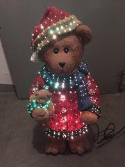 Weihnachten Bärenfigur