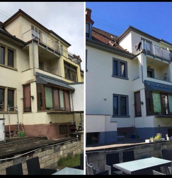Maler gipser Renovierungsarbeiten Fassadensanierung