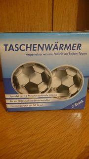 Taschenwärmer Motiv Fußball
