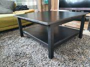 Ikea Couchtisch Hemnes schwarzbraun
