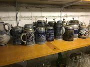 Bierkrüge Steinzeug 16 St NUR