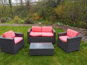 Rattan Sitzgruppe Garten Terrasse Outdoor
