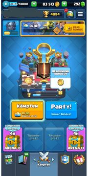 Clash Royal Account Alle Legis