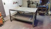 Tisch Schweißertisch Schlossertisch Metalltisch