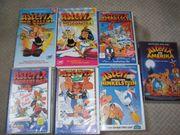 7 VHS Videos von Asterix