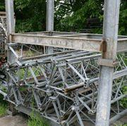 Mastteile für Bauaufzug Steinweg Optilift