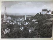 Ansichtskarte - Photo Postkarte - schwarz weiß - LANDSHUT