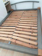 Bett Holz Metall In Heidelberg Haushalt Mobel