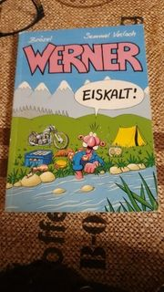 Comic Buch Werner Eiskalt