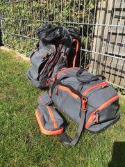 satch Set Schulrucksack Sporttasche Mäppchen