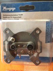 Kopp Antennensteckdose TV RF