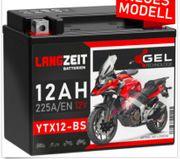 Motorrad Batterie GEL 12 V