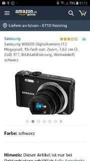 Digitalkamera Samsung
