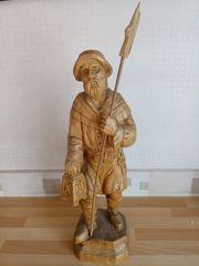 Holzfigur Nachtwächter