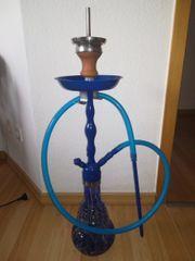 Shisha Wasserpfeife blau