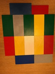 Lego Platten 16x8cm