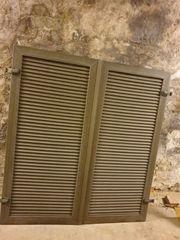 Klappläden Kunststoff Fensterläden H 157cm