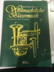 1 Notenheft Weihnachtliche Bläsermusik von