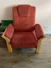 Sofa 2-Sitze und Sessel