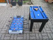 Billiard Tischfußball 2in1 Hudora