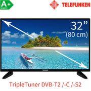 TV 32 Telefunken Triple-Tuner NEU