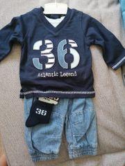 3tlg Baby Bekleidungs-Set für Buben