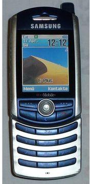 Samsung SGH Z130 - Silberblau