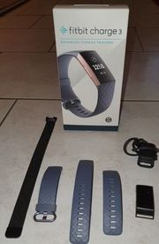Fitbit Charge 3 1 schwarzes
