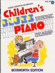 KLAVIERNOTEN für Kinder - Blues Piano