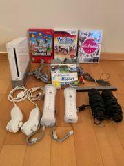 Wii Konsole mit Zubehör und