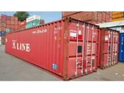 40 Fuss Lagercontainer Seecontainer Reifencontainer